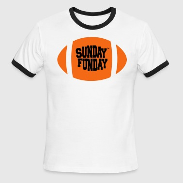 Bitches Sunday Sunday Funday - Men's Ringer T-Shirt