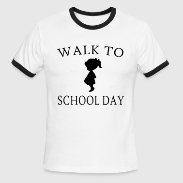 walk to school day - Men's Ringer T-Shirt