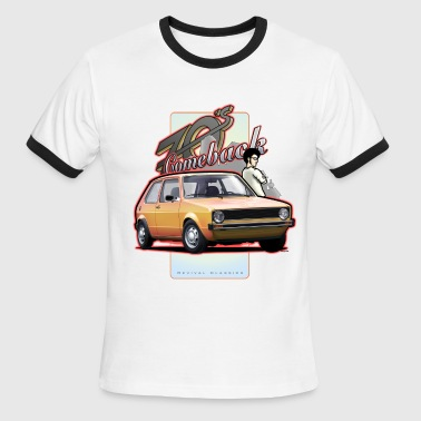 Mk1 Car - Comeback - Men's Ringer T-Shirt