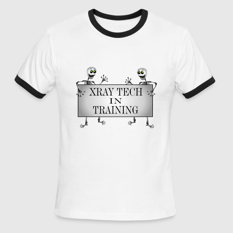 Xray Tech In Training - Men's Ringer T-Shirt