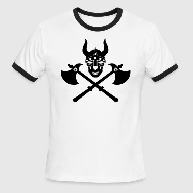Ancient Emblem Viking emblem - Men's Ringer T-Shirt