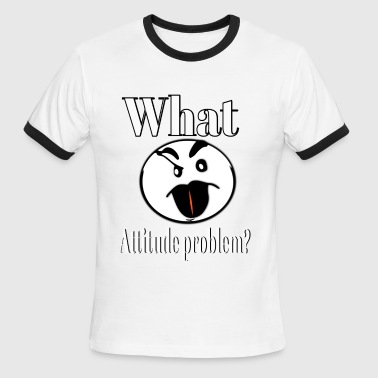 Attitude - Men's Ringer T-Shirt