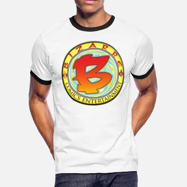 Spy Hard Bizarre Comics Logo - Men's Ringer T-Shirt