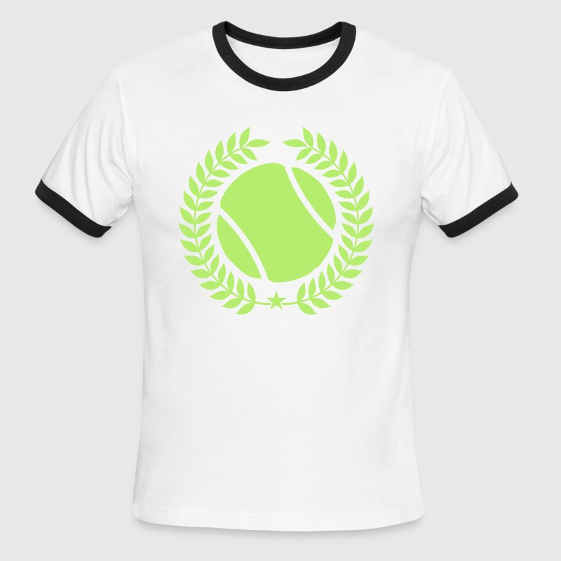 Cool tennis Designs - Men's Ringer T-Shirt
