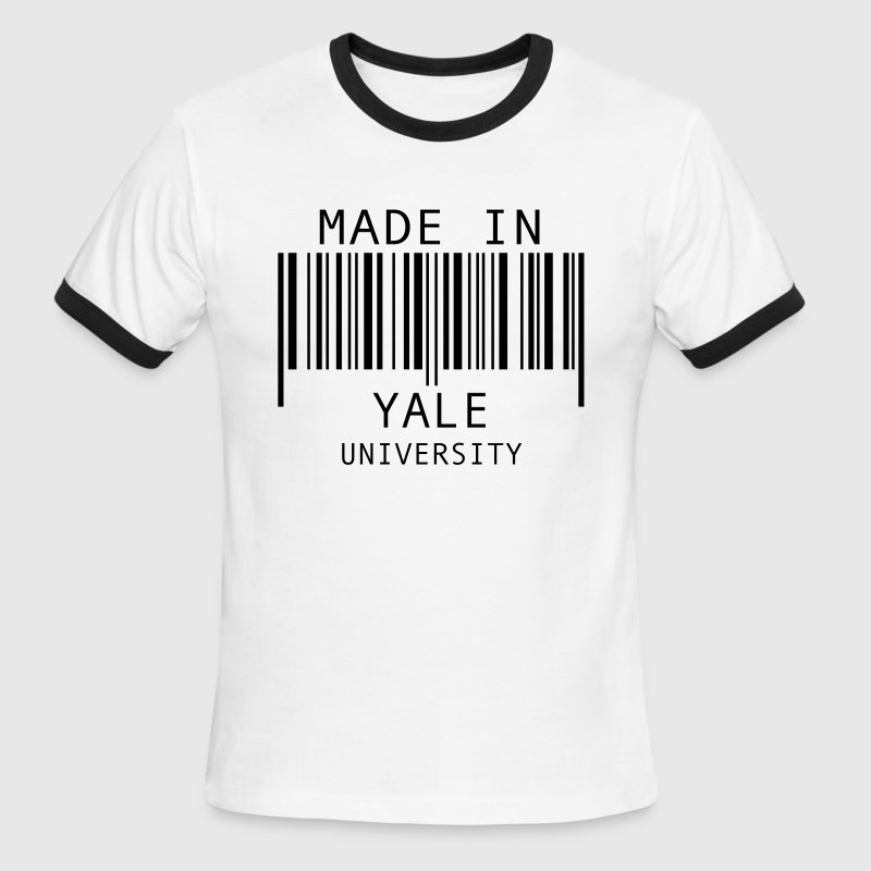 Made in Yale University - Men's Ringer T-Shirt
