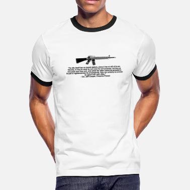 2bb028efc Gun Quotes Gun Quote - Men's Ringer T-Shirt