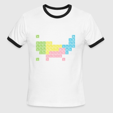 Periodic Table of America - Men's Ringer T-Shirt