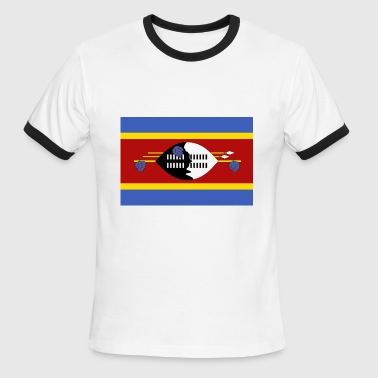 swaziland - Men's Ringer T-Shirt