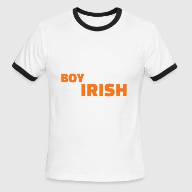 My Boyfriend Is Irish - Men's Ringer T-Shirt