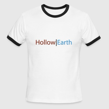 hollow earth - Men's Ringer T-Shirt