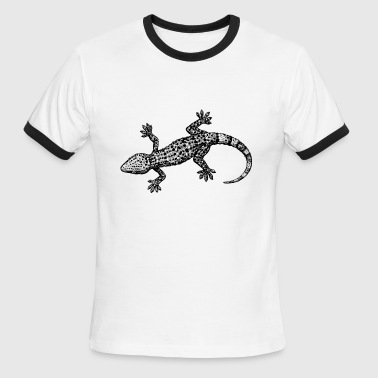 gecko - Men's Ringer T-Shirt