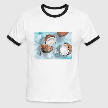 Sunny Heights sunny coconuts - Men's Ringer T-Shirt