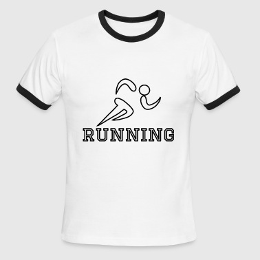 Running Sports - Men's Ringer T-Shirt