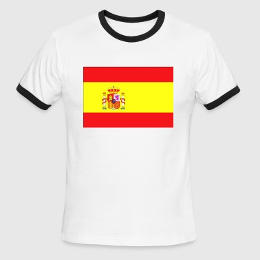 Spanish Flag spain yellow - Men's Ringer T-Shirt