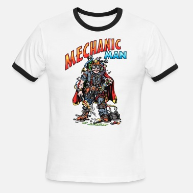 Dealership Mechanic Man! - Men's Ringer T-Shirt