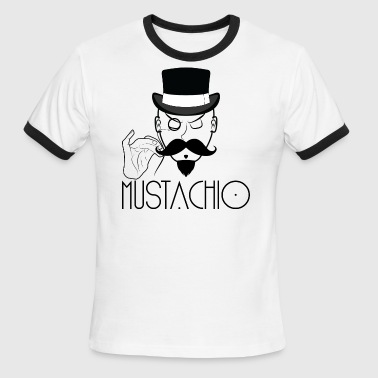Mustachio - Men's Ringer T-Shirt
