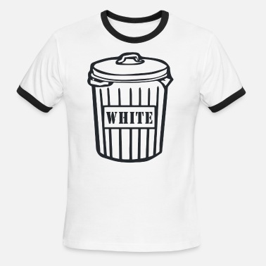 White Trash Funny White Trash - Men's Ringer T-Shirt