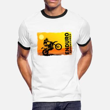 Enduro Cross Enduro - Offroad - Motocross - Men's Ringer T-Shirt