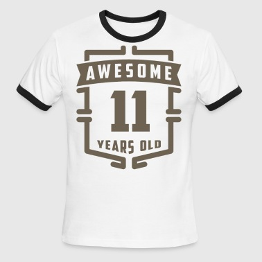 11 Year Old Awesome 11 Years Old - Men's Ringer T-Shirt