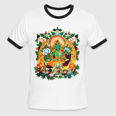 Green Tara - Men's Ringer T-Shirt