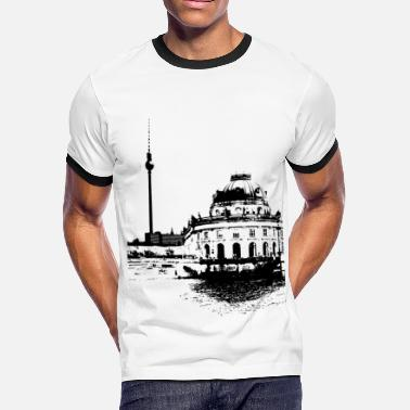 Ddr Berlin Berlin - Men's Ringer T-Shirt