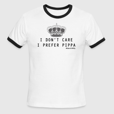 i don't care i prefer Pippa - Men's Ringer T-Shirt