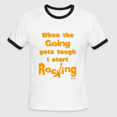 rocking - Men's Ringer T-Shirt