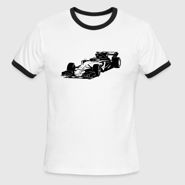 Formula One - Formula 1 - Racer - Men's Ringer T-Shirt