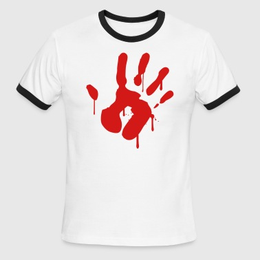 Bloody Hand - Men's Ringer T-Shirt