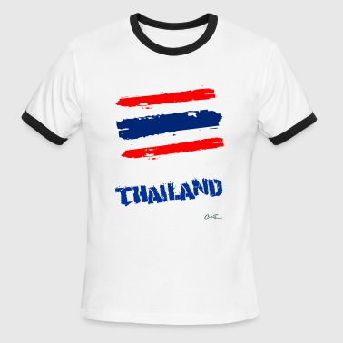 Thailand Flag - Men's Ringer T-Shirt