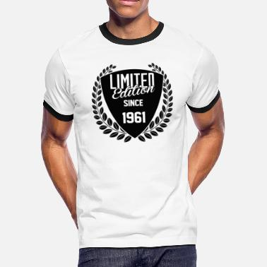 1961 Limited Edition limited edition since 1961 - Men's Ringer T-Shirt