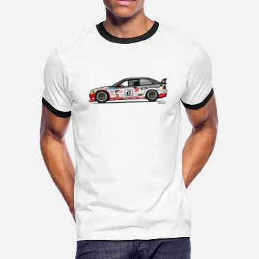 E36 Bavarian 3 Series E36 M Drei Gts-2 - Men's Ringer T-Shirt