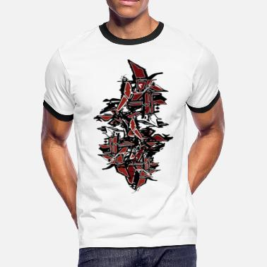 Graffiti Tag cool Tagged Graffiti - Men's Ringer T-Shirt