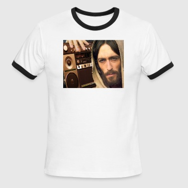 Jesus Loves GospElectro - Men's Ringer T-Shirt