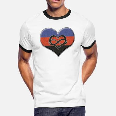 Shop Polyamory Flag T-Shirts online | Spreadshirt