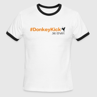 Donkey Kicking Donkey Kick - Men's Ringer T-Shirt