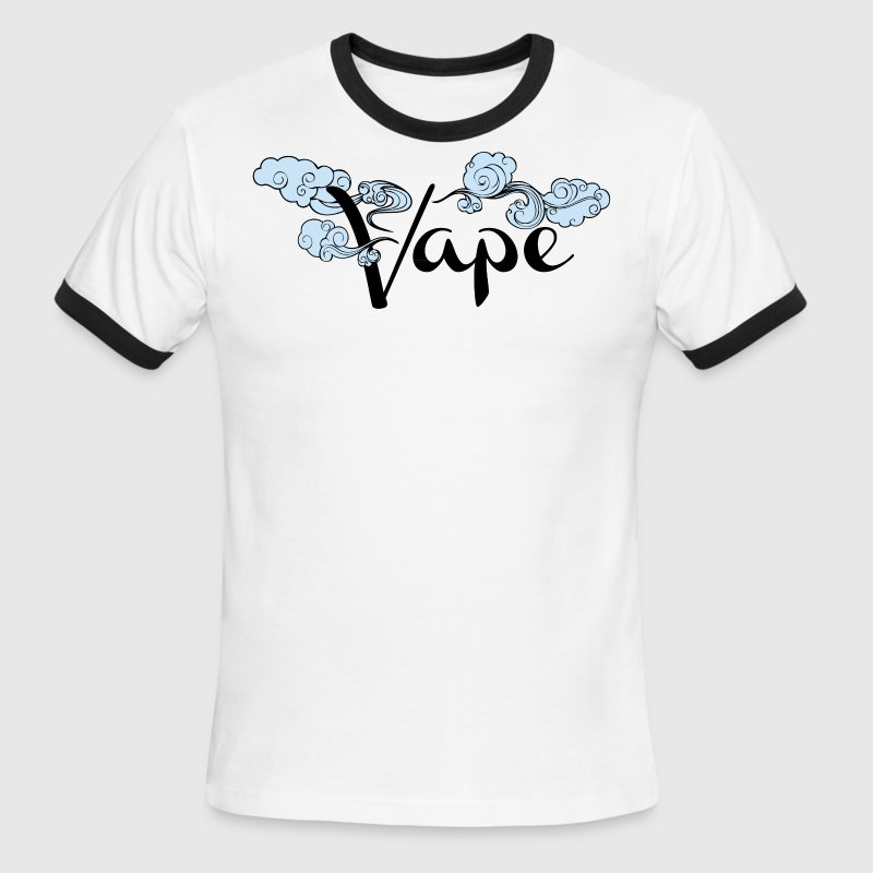 Best Selling Vape Design - Men's Ringer T-Shirt