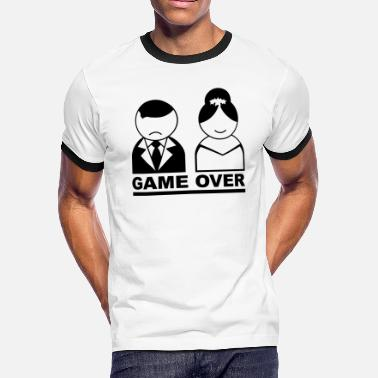 Game Over Game Over - Men's Ringer T-Shirt