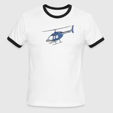 Helicopter Pilot Funny Pilots fly helicopters - Men's Ringer T-Shirt