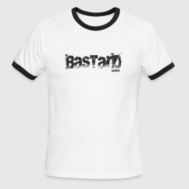 bastard black by wam - Men's Ringer T-Shirt