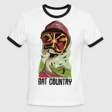 Bat Country Fear and Mario at Bat Country - Men's Ringer T-Shirt