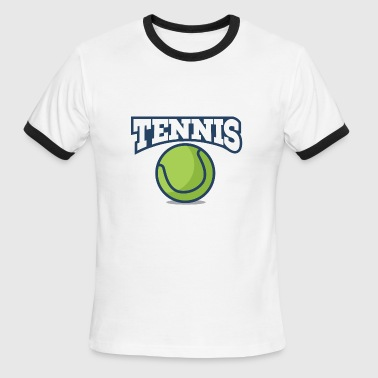 Kids Tennis Tennis - Men's Ringer T-Shirt