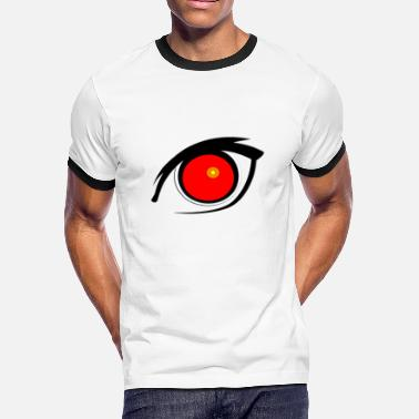 Big Eyes BIG EYE - Men's Ringer T-Shirt