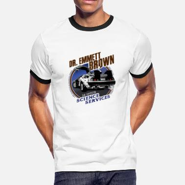 1-21-gigawatts Dr. Emmett Brown Science Services - Men's Ringer T-Shirt