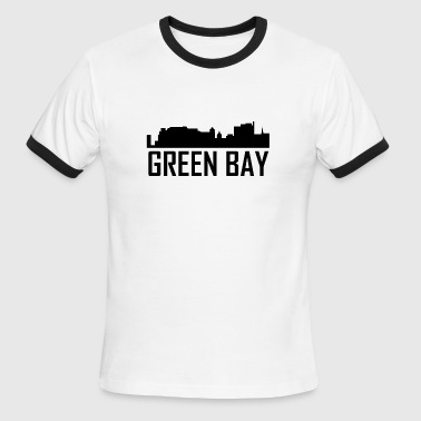 Green Bay Wi Green Bay Wisconsin City Skyline - Men's Ringer T-Shirt