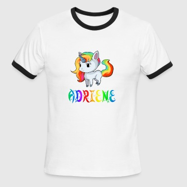 Adriene Unicorn - Men's Ringer T-Shirt