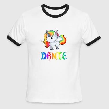 Dante Dante Unicorn - Men's Ringer T-Shirt