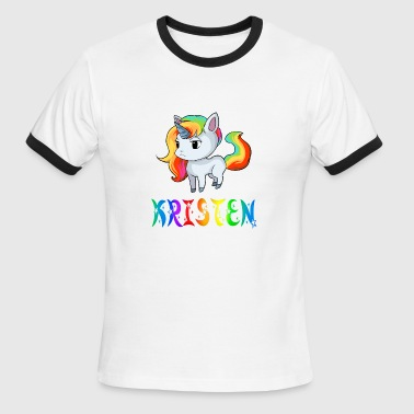 Kristen Kristen Unicorn - Men's Ringer T-Shirt