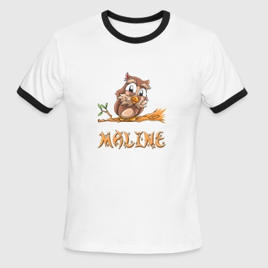 Malin Maline Owl - Men's Ringer T-Shirt