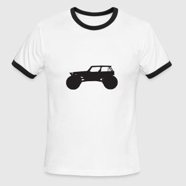 monster truck - Men's Ringer T-Shirt